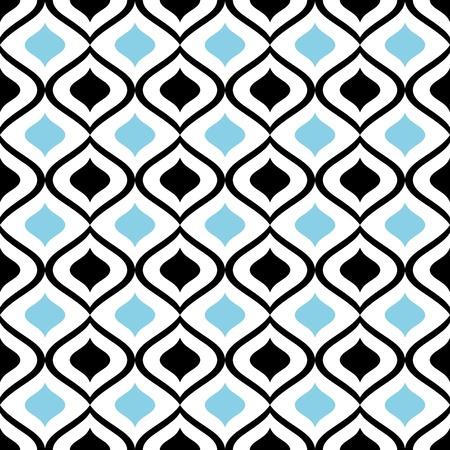 抽象的なシームレスな飾りパターン図  イラスト・ベクター素材