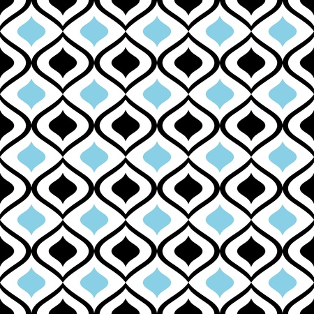 abstract seamless ornament pattern illustration
