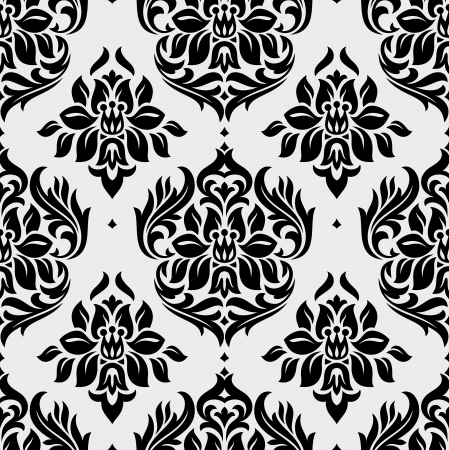 floral seamless wallpaper vector illustration Vector