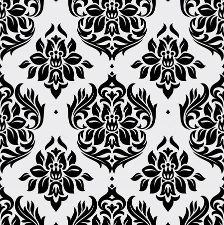 floral seamless wallpaper vector illustration Illustration