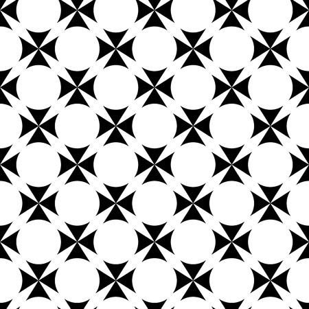 white pattern: abstract seamless ornament pattern vector illustration Illustration
