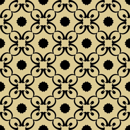 abstract seamless ornament pattern  Vector
