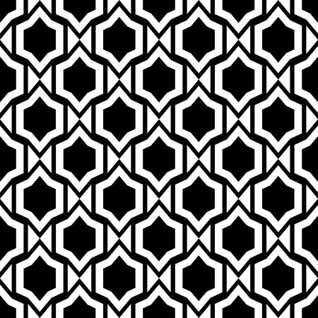 抽象的なシームレスな飾りパターン ベクトル イラスト