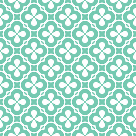 seamless floral pattern: abstract seamless ornament pattern vector illustration Illustration