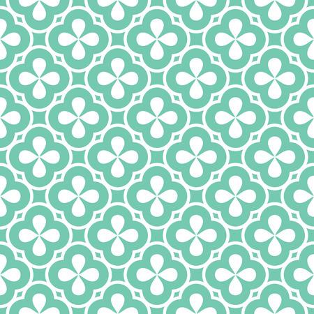 abstrakte muster: abstract seamless ornament pattern Vektor-Illustration