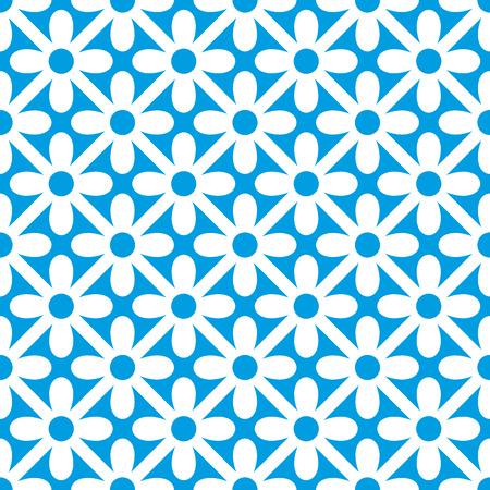 abstract seamless ornament pattern vector illustration Illustration