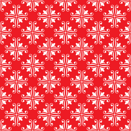 drapes: seamless ornamental pattern vector illustration