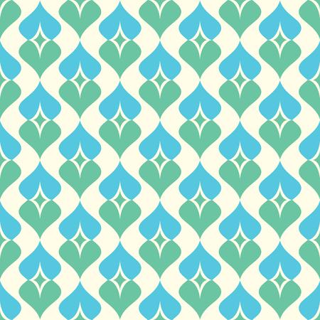 seamless ornamental pattern vector illustration Vektorové ilustrace
