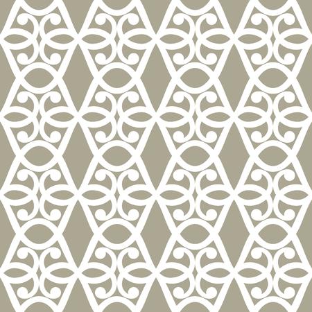 abstracte naadloze sier patroon vectorillustratie