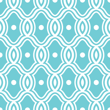 abstract seamless ornamental pattern vector illustration