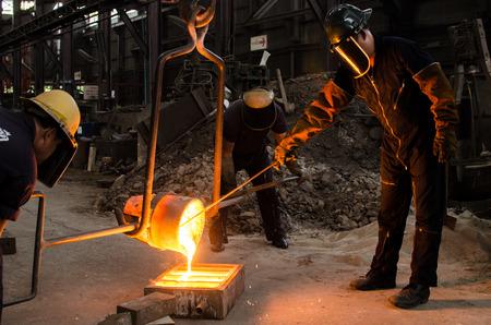 金属の鋳造