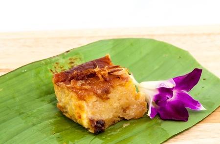 thai dessert: Mung bean thai custard dessert recipe