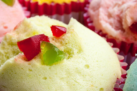 Muffin cup cake or Cotton - wool cake, Muffin Thailand photo