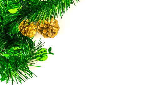 christmasy: Christmas decoration with withe background