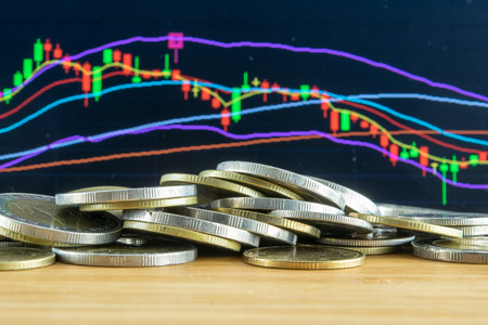 money market: Investment fail on Stock market concept