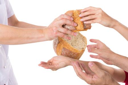 Více ruce držáky pro potraviny