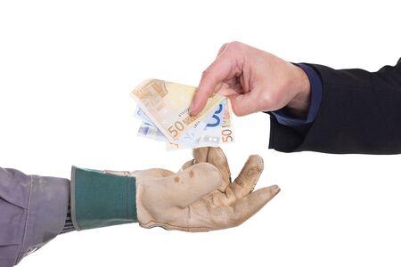 Platba probíhá v hotovosti