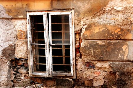 Close-up details of an old deserted house. Stock Photo - 3622303