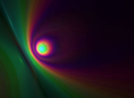 Multicolor abstract background:3D rendered fractal. Stock Photo - 3713575