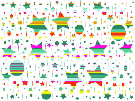 star path: Multicolored celebration abstract background.This is a vector file and can be scaled at any size.