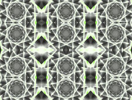 Computer generated illustration: rendered fractal, abstract background. illustration