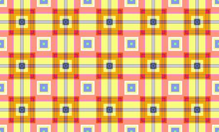 inmejorablemente: Coloridos patrones cuadrados idealmente como fondo de la estructura abstracta.