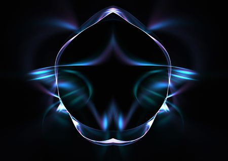 mind body soul: Mind, body and soul: beautiful abstract 3D rendered fractal- yoga concept. Stock Photo