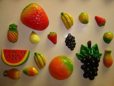 Fake fruits