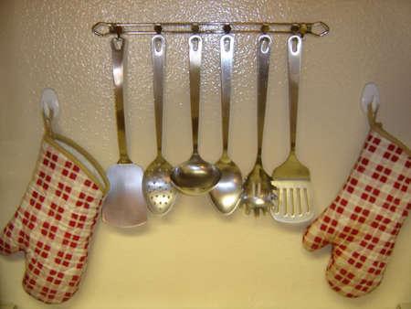 kitchen tools: Keukengerei Stockfoto