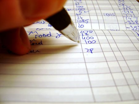 subtraction: Subtraction and addition Stock Photo