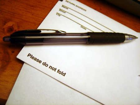 Do not fold Reklamní fotografie
