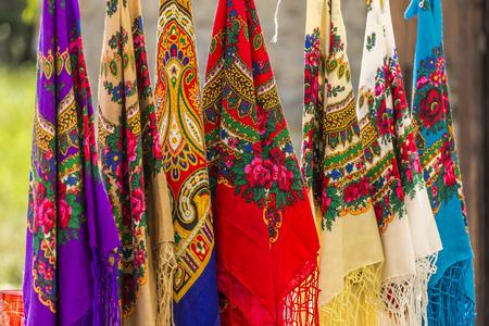 Traditional Romanian headkerchiefs Stock fotó - 44175320