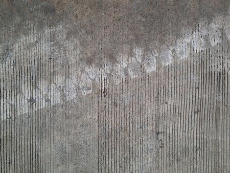 Welded: Concrete floors are welded wheels, background Stock Photo