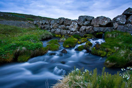 beuty of nature: Wall river