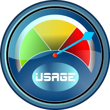 usage: usage gauge