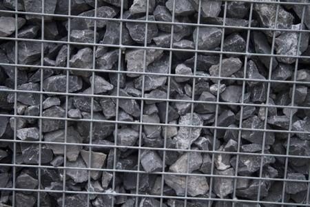 prison: pebble in prison Stock Photo