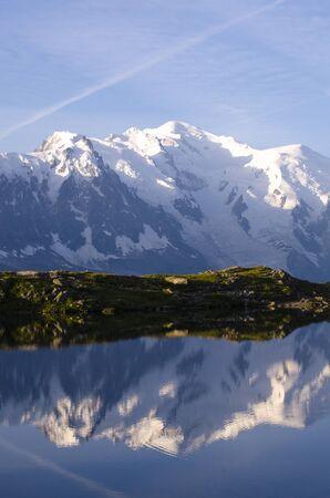 reflection in the lake Reklamní fotografie