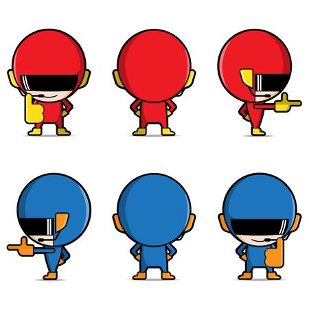 character design: Character design for vector, mascot, cartoon, clip art and super hero