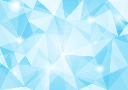 crinkle: blue crumpled abstract background design Stock Photo