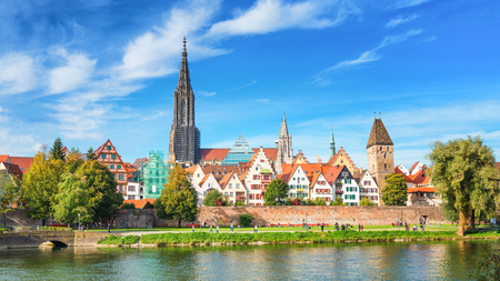 Ulm City Panorama, Germany
