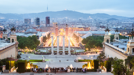 Barcelona Skyline Spain