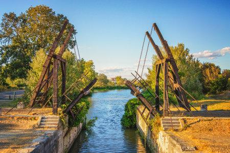 Pont Van-Gogh, Pont de Langlois, Arles - France Editorial