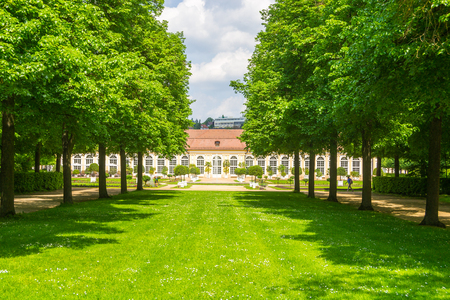 Park in Ansbach, Germany
