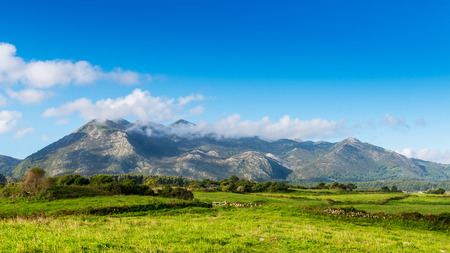Landscape of the Northern Coast in Spain