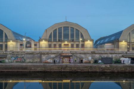 Riga Central Market, is Europes largest bazar using old German Zeppelin hangars