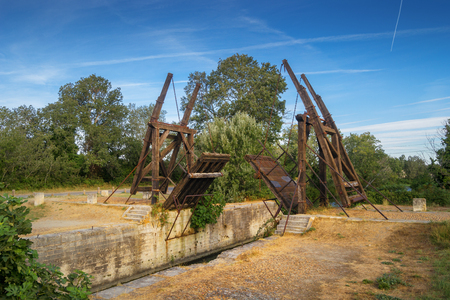 Pont Van-Gogh, Pont de Langlois, Arles - France Stock Photo
