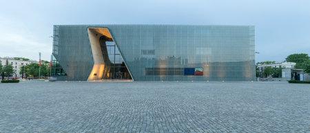 Panorama des Jüdischen Museums in Warschau, Polen