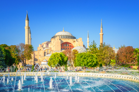 Hagia Sophia, Istanbul, Turkey Foto de archivo