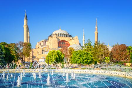 Hagia Sophia, Istanbul, Turkey Imagens