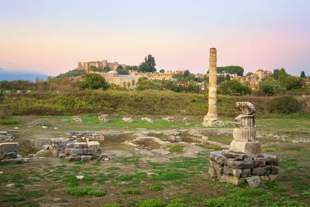 Temple of Artemis at Ephesus - Selcuk, Turkey